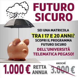 Futuro Sicuro, programma della Pegaso, Università telematica e corsi di laurea online riconosciuti dal Miur
