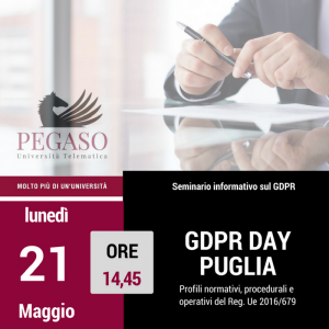 Terza missione - General Data Protection Regulation e Officer, dalla Privacy al GDPR 2018