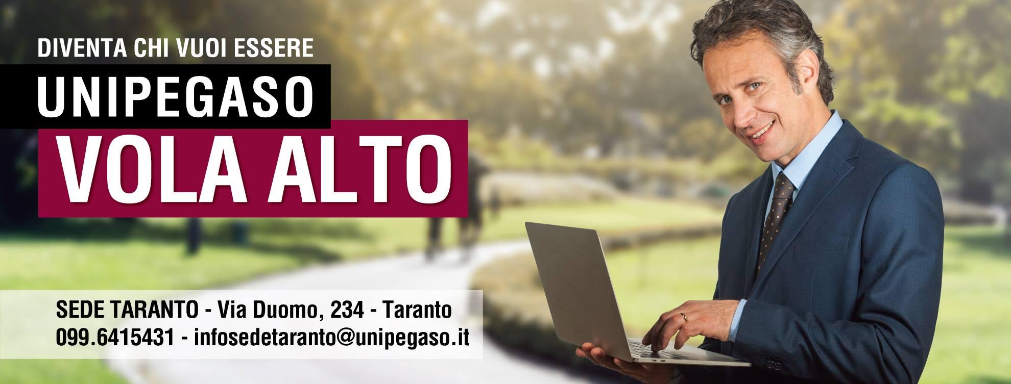 Corsi di Laurea online Pegaso, Università telematica sede di Taranto